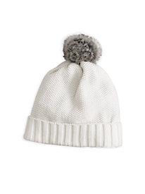 Textured Cotton Silk Hat