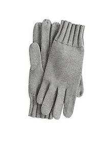 Textured Cotton Silk Gloves