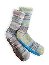 Acorn Toasty Treads 2-pack Slipper Sock