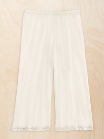 Lightweight Washable Silk 3/4 Split-skirt Slip