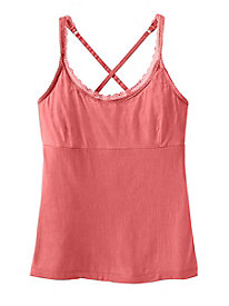 Scalloped Lace Convertible Camisole