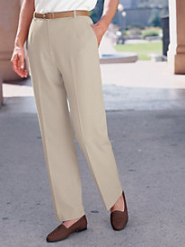 Bi-Stretch Fly-front Pants