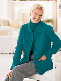 Classic Boiled-Wool Jacket