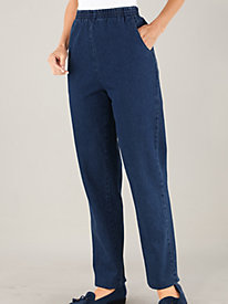 Relaxed Fit Pull-On Pants