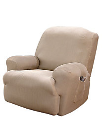 Stretch Suede Recliner Slipcovers