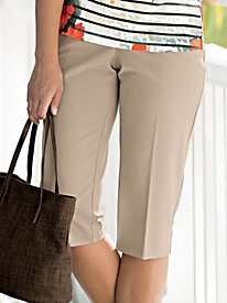 Comfort-Back Bi-Stretch Capri