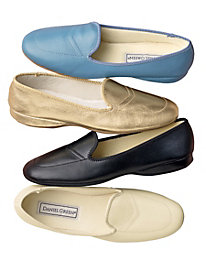 Indoor/Outdoor Leather Slippers by Daniel Green®