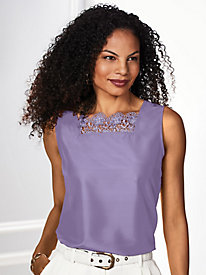Lace-Trim Camisole