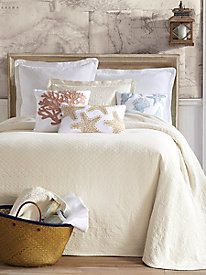 William & Mary Matelasse Bedspread, Coverlet, Shams & Pillows
