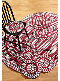 Crescent 7pc Braided Rug Set