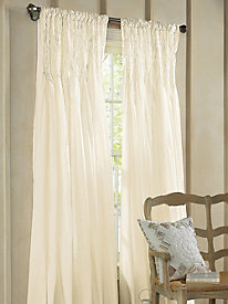 Smocked Window Panel