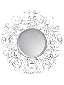 Two Tone Scroll Mirror