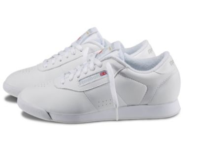 Reebok Women's White Princess - Wide D Shoe