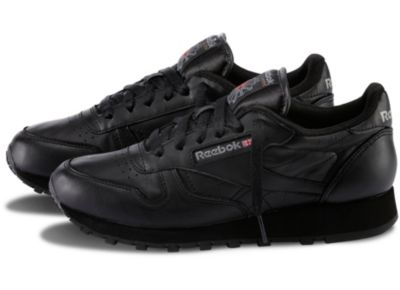 Reebok Women's Black Classic Leather Shoe