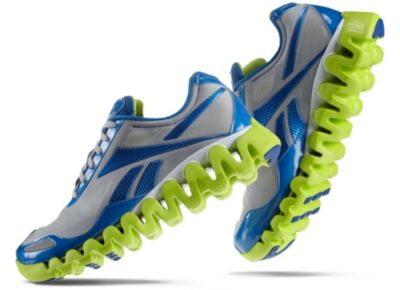 Reebok Men's Echo Blue ZigPulse Running Shoe
