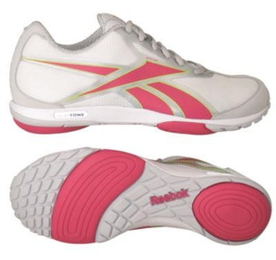 Reebok Women's White SlimTone Walking Shoe