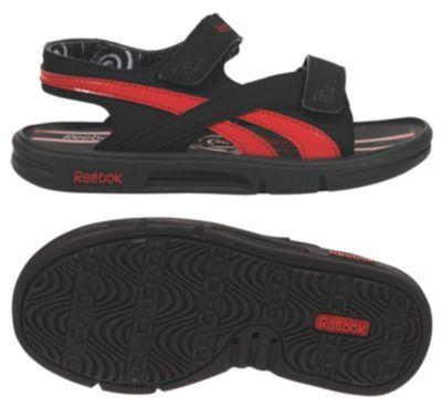 Reebok Boys Black Beach Haven II - Youth Walking Shoe