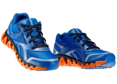 Reebok Boys Vital Blue ZigLite Electrify - Children Running Shoe