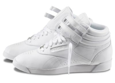 Reebok Women's White Freestyle Hi Shoe