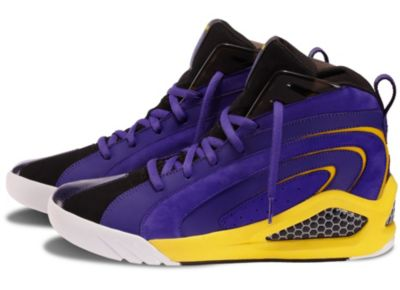 Reebok Men's Dark Blue Purple Shaqnosis Shoes