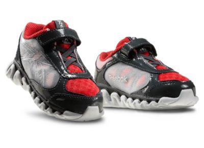 Reebok Boys Grey Mini ZigLite Rush - Infant/Toddler Running Shoe