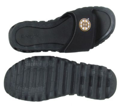 Reebok Men's Black NHL ZigNano Slide - Bruins Outdoor Shoe