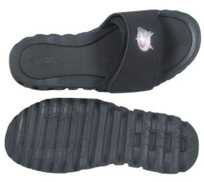 Reebok Men's Black NHL ZigNano Slide - Blue Jackets Outdoor Shoe