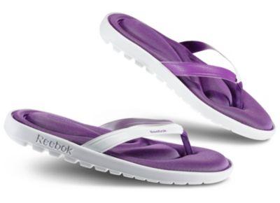 Reebok Women's White Comfort ReeFresh Flip Outdoor Shoe