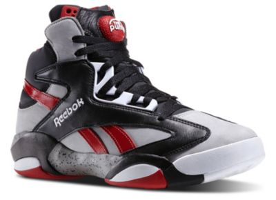 Reebok Men's Grey Shaq Attaq Basketball Shoes