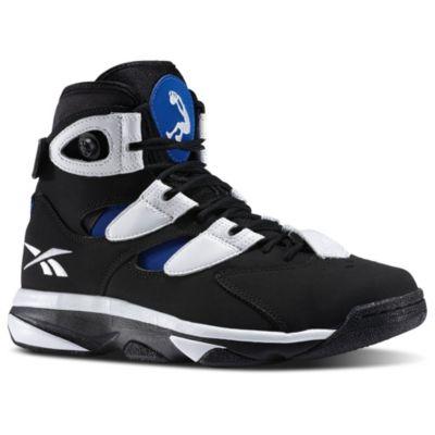 Men's Black Shaq Attaq IV Basketball Shoes