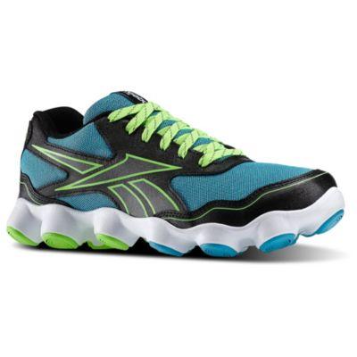 Reebok Boys Black ATV19 Zoom Running Shoes