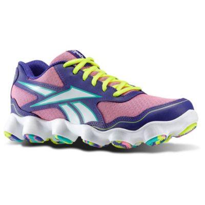Reebok Girls Pink ATV19 Zoom Running Shoes