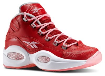 Reebok Girls Red Question Mid