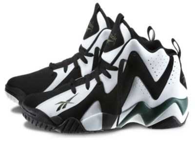 Reebok Men's Black Kamikaze II Mid Shoe