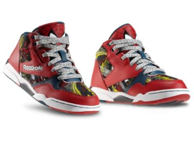 Reebok Boys Red Sir Jam - Marvel - Children Shoe