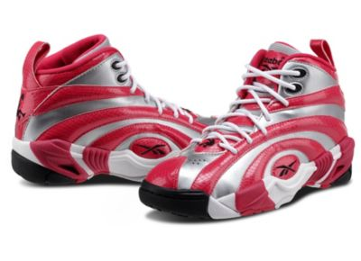 Reebok Girls Pure Silver Shaqnosis OG - Youth Shoes