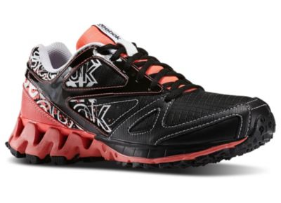 Reebok Women's Black ZigKick Trail 1.0 Running Shoe