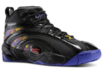Reebok Men's Black Shaqnosis - Escape from LA