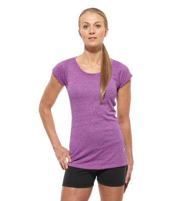 Reebok CrossFit Tri Blend Short Sleeve Top