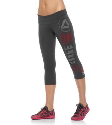 Reebok CrossFit Forging Elite Fitness Capri - Print