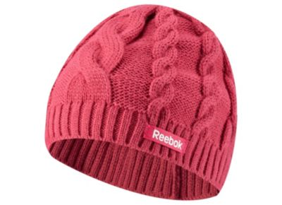 Reebok Women's Pink Cab Beanie - $20.00 #affiliate