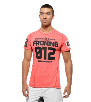 Crossfit men 39 s black reebok lightweight compression shirt for Reebok crossfit t shirts
