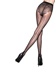 Pretty Flirty Back Seam Tights