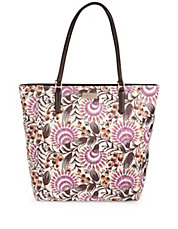 Harris Floral Leather Tote