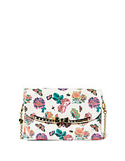 Serenity Bow Flap Shoulder Bag