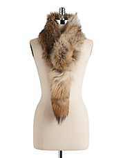 Convertible Coyote Fur Scarf