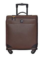 Leather Carry-On Trolley Bag