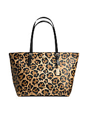 Wild Beast Leather Turnlock Tote
