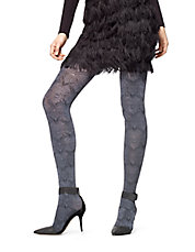 Damask Control Top Tights