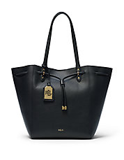 Oxford Leather Shopper